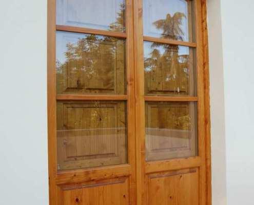 Porta in legno - Ratoci Roberto