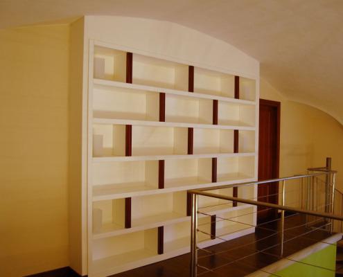 Libreria su misura - Falegnameria Ratoci